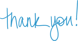 Thank You - Blue print